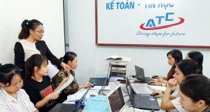 Lớp dạy kế toán thực hành tại Thanh Hóa
